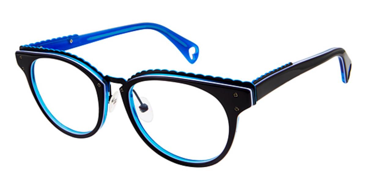 97f96f07061 Get Free Shipping on Betsey Johnson Eyeglasses 164 Luscious Lennon