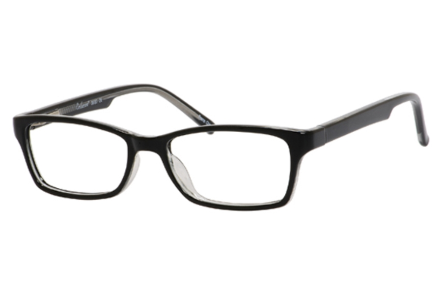 96c025b680b4 Enhance Eyeglasses 3930 Black   Crystal ...