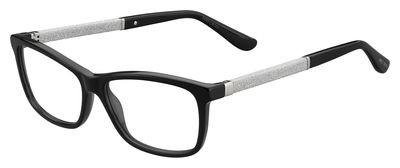 df8e1701c065 Jimmy Choo Eyeglasses JC167  Havana Glitter Black Jimmy Choo Eyeglasses  JC167  Black Glitter Black ...