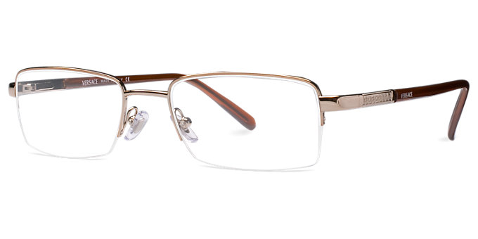 1b232b00c95 Luxottica VersaceVE1066 LightBrown Versace Eyeglasses VE1066