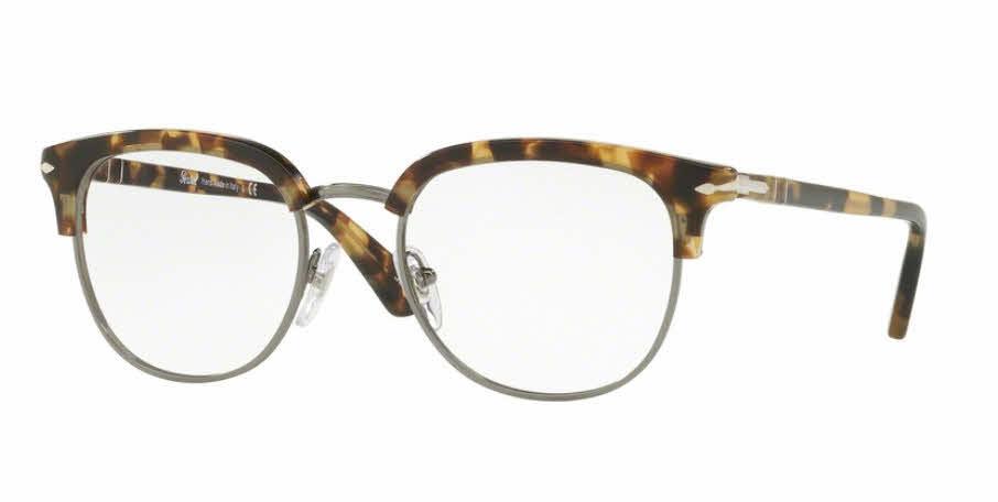 3abfbed6f8333 Persol Eyeglasses PO3105VM Black Persol Eyeglasses PO3105VM Brown Beige  Tortoise ...