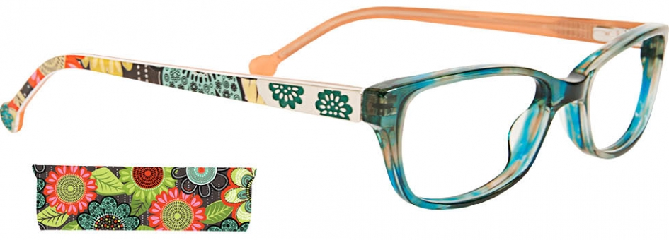 Get Free Shipping on Vera Bradley Optical Eyeglasses VB Ada ...