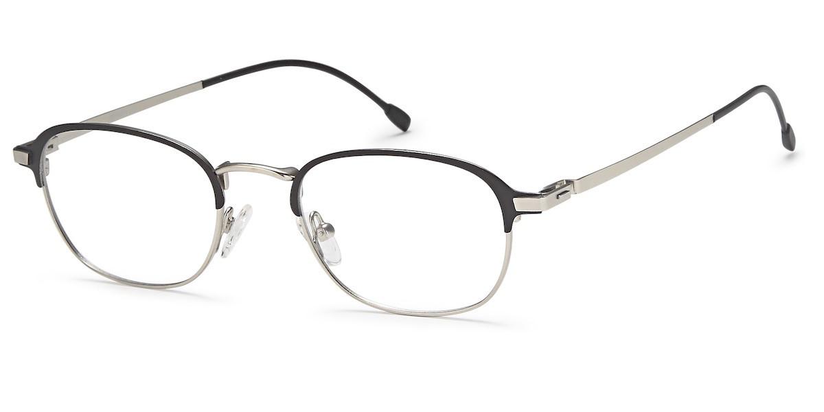 4cbce1beee Menizzi Eyeglasses M4031 Matt Black- Matt Silver ...