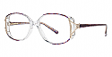 Genevieve Paris Design Eyeglasses Saphire